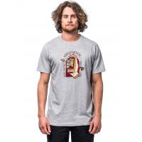 Horsefeathers SACRIFICE ASH pánské tričko s krátkým rukávem - S