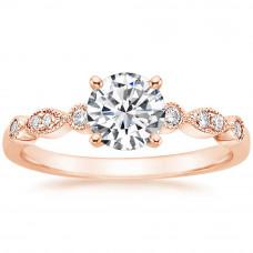 OLIVIE Stříbrný zásnubní prsten ROSE 4112 Velikost prstenů: 8 (EU: 57 - 58)