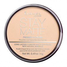 Rimmel London Stay Matte Powder pudr 5 Silky Beige 14 g
