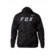 Fox Moth Windbreaker BLACK/GREY cyklistická bunda - XL