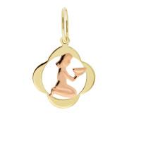Zlato Zlatý přívěsek znamení zvěrokruhu 3220065 Znamení zvěrokruhu: Panna
