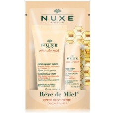 Nuxe Reve de Miel Hand And Nail Cream 75ml + Lip Moisturizing Stick 4ml
