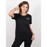 Burton MULTIPATH TRUE BLACK dámské tričko s krátkým rukávem - S