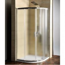 GELCO - AKCE čtvrtkruhová sprchová zástěna 900x900x1900mm, sklo Brick (AG4295)