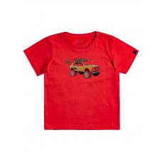 Quiksilver VERY ROOTSY AMERICAN RED dětské tričko s krátkým rukávem - 3