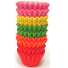 Košíčky cukrářské, barevné 20x18 mm, 200 ks