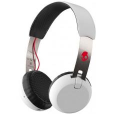 Skullcandy Grind Wireless On-Ea WHITE/BLACK/RED velká sluchátka uzavřená
