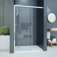 Aquatek WELLNESS B2 120 Sprchové dveře zasouvací 117-121cm, sklo 6mm
