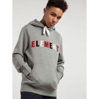 Element LINER grey heather pánská mikina - M