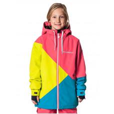 Horsefeathers VERONIKA sulphur dětská zimní bunda - XL