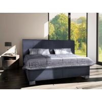 Čalouněná postel Venus 180x200 šedá - BLANAŘ