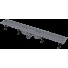 Alcaplast APZ12-950 plastový podlahový žlab s okrajem pro perforovaný rošt nebo vložení dlažby (APZ12-950)