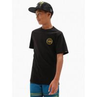 Vans AUTHENTIC CHECKER black dětské tričko s krátkým rukávem - L