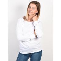 Element YAWYD white dámské tričko s dlouhým rukávem - L