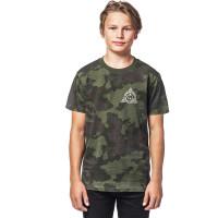 Horsefeathers GRIZZLY cloud camo dětské tričko s krátkým rukávem - XXL