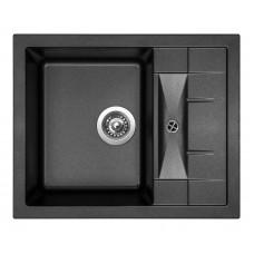 Sinks Kuchyňský dřez Crystal 615 Metalblack