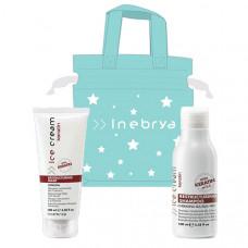 Inebrya Keratin minisizes duopack (Restructuring Shampoo 100ml + Mask 100ml +Xmas Bag)