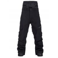 Horsefeathers RAFTER black pánské softshellové lyžařské kalhoty - XXL