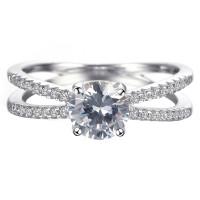 OLIVIE Stříbrný prsten 4232 Velikost prstenů: 8 (EU: 57 - 58)