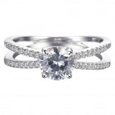 OLIVIE Stříbrný prsten 4232 Velikost prstenů: 6 (EU: 51 - 53)