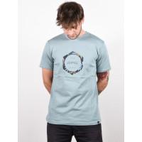 Animal LAMARY Lead Grey pánské tričko s krátkým rukávem - M