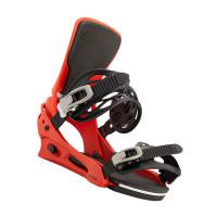 Burton CARTEL BRIGHT RED pánské vázání na snowboard - M