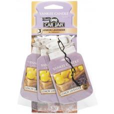 Yankee Candle Car Jar Classic 3 Assorted Fragrances Lemon Lavender