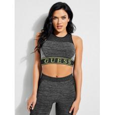 GUESS podprsenka X Amanda Cerny Logo Color-Block Sports Bra černá vel. XS/S