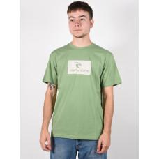 Rip Curl HALLMARK FROST pánské tričko s krátkým rukávem - L