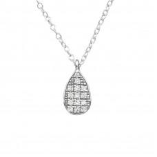 OLIVIE - Stříbrný náhrdelník s kubickými zirkony 0871
