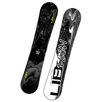 LIB Technologies SKATE BANANA stealth/blacked out snowboard - 162W