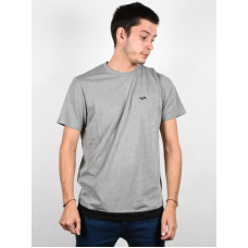 RVCA RUNNER MESH ATHLETIC HEATHER pánské tričko s krátkým rukávem - XL