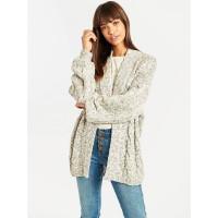 Billabong SWEET THANG WHITE CAP luxusní dámský svetr - S