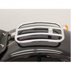 nosič zavazadel Fehling místo spolujezdce Harley Davidson Breakout 2013-2017 chrom - Fehling Ernest GmbH a Co. 6198BRHD