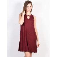 Fox Bay Meadow CRANBERRY společenské šaty krátké - S