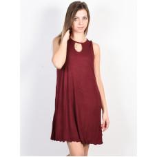 Fox Bay Meadow CRANBERRY společenské šaty krátké - L