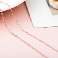 OLIVIE Levný 45+5cm ROSE stříbrný řetízek 4594
