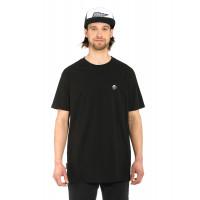 Horsefeathers ELMO black pánské tričko s krátkým rukávem - L