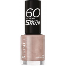Rimmel London 60 Seconds Super Shine Nail Polish 8ml - 510 Euphoria