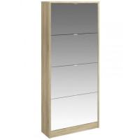 Botník se zrcadlem Bright 71014 dub sonoma - TVI