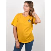 Element TAXI WO OLD GOLD dámské tričko s krátkým rukávem - S