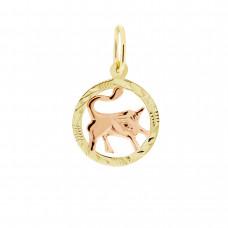Zlato Zlatý přívěsek znamení zvěrokruhu 3220061 Znamení zvěrokruhu: Býk