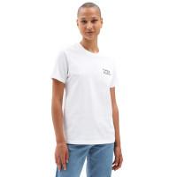 Vans HEAT SEEKER white dámské tričko s krátkým rukávem - S