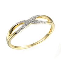 Zlato Zlatý dámský prsten Lily 3818017 Velikost prstenu: 51