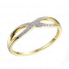 Zlato Zlatý dámský prsten Lily 3818017 Velikost prstenu: 57