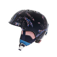 Roxy HAPPYLAND MEDIEVAL BLUE ARCTIC LEAVES přilba na snowboard - 52
