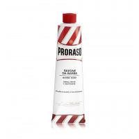 PRORASO Red mýdlo na holení pro tvrdé vousy v tubě 150ml