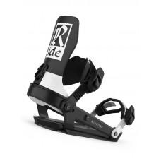 Ride A-6 CLASSIC BLACK pánské vázání na snowboard - M