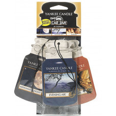 Yankee Candle Car Jar Classic 3 Assorted Fragrances Cruise Night