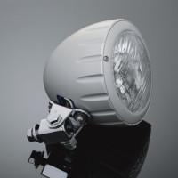 Přídavné moto světlo Highway Hawk, natočení o 90°, E-mark, satin (1ks) - Satin - Highway Hawk HWH 68-223370